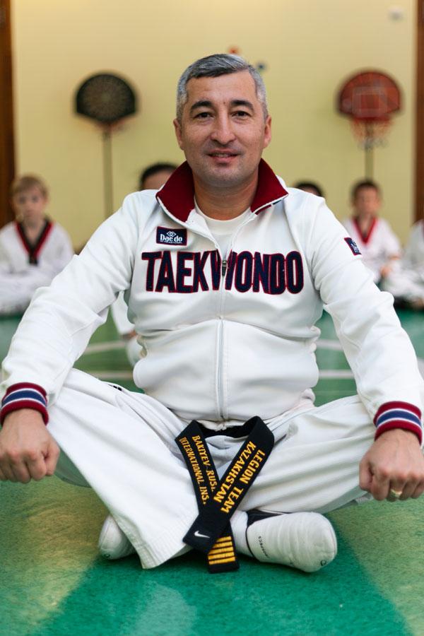Бакиев Руслан Адильжанович - Тренер по таэквандо