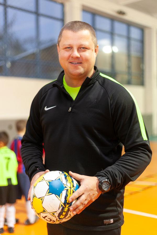 Данилов Сергей Александрович - Тренер по футболу