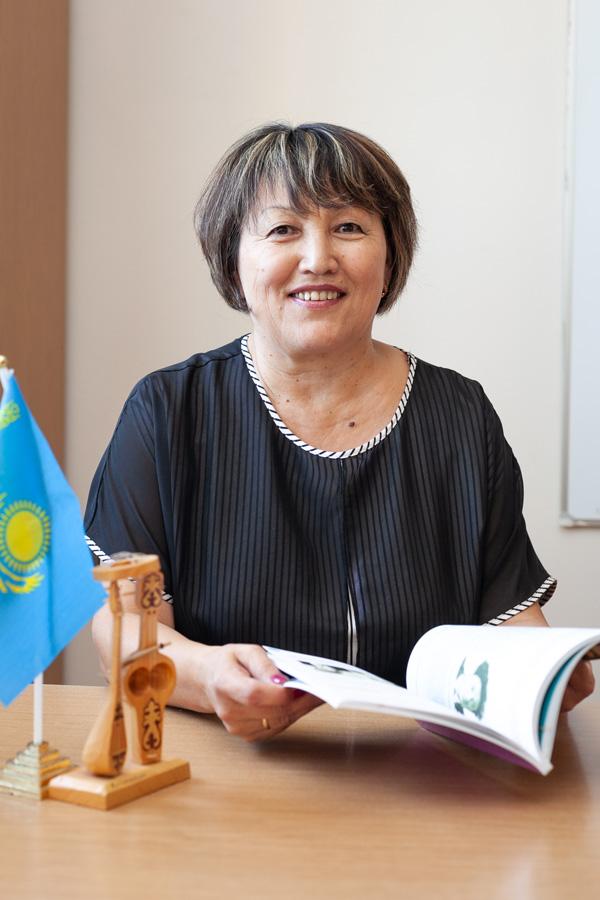 Рахиянова Гульзара Боркеновна - Учитель казахского языка